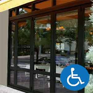 ADA automatic doors